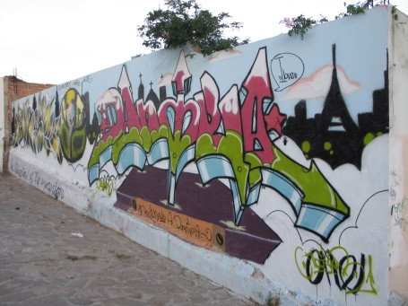 Zacatecas Graffiti